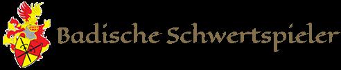 Wappen Badische Schwertspieler mit Bild und Text